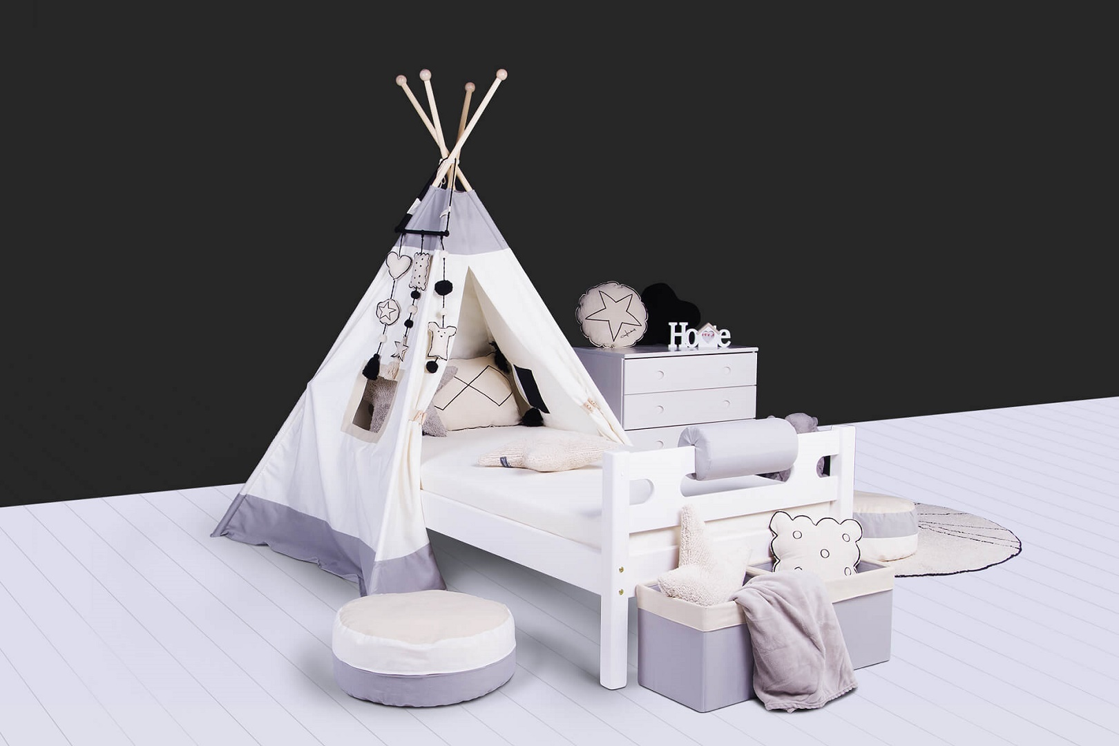 Domesatv domino bubbles teepee