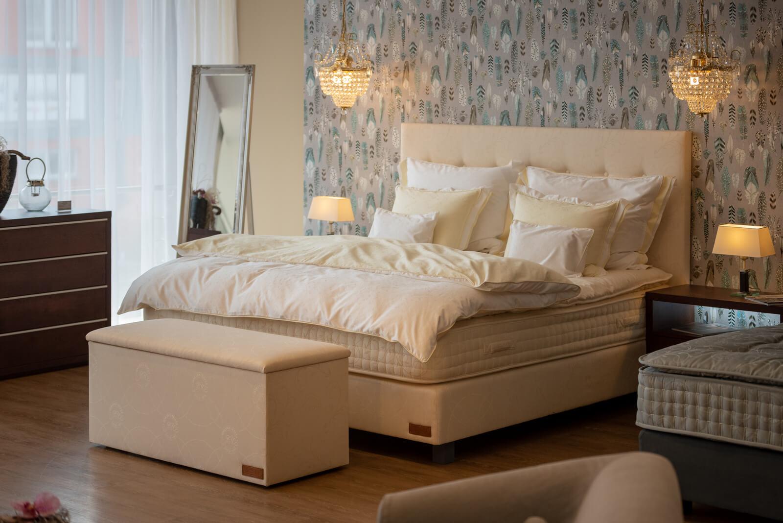 Kontinentální postele Johann Malle