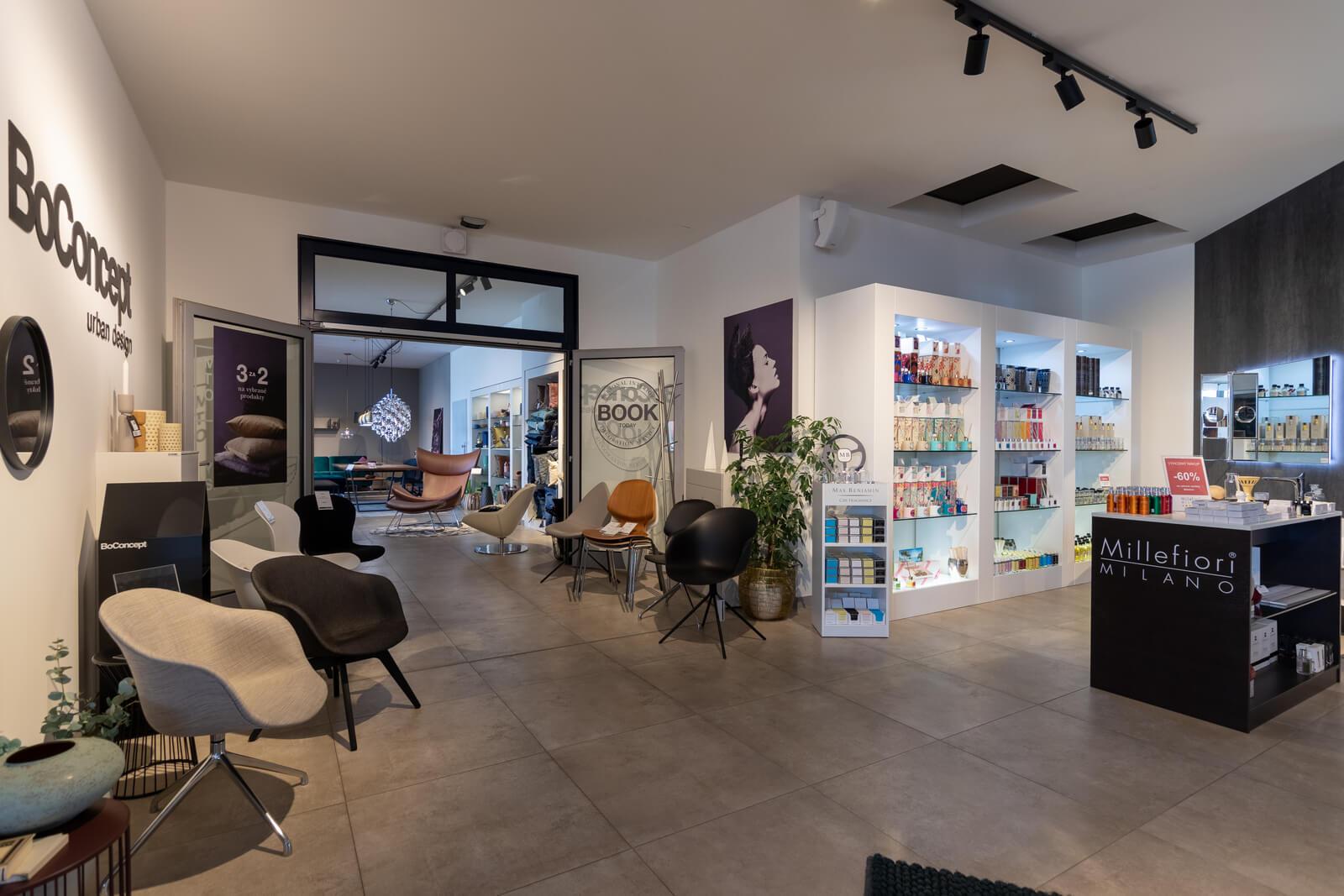 Showroom BoConcept Galerie MoDo