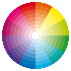 barevné spektrum modo