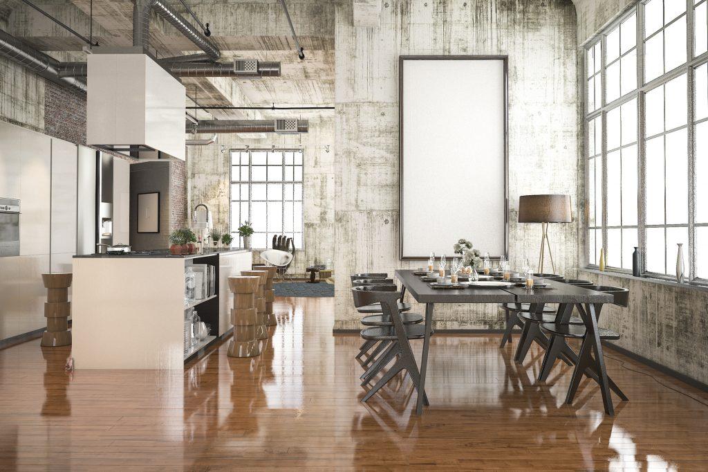 Bydlení v industriálním stylu