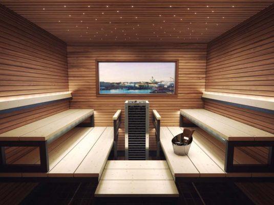 Finská sauna Harvia Modulo