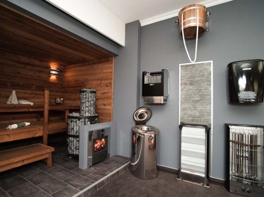 Finská sauna interiérové centrum MoDo