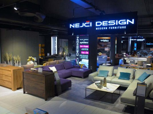 Showroom NEJČI DESIGN